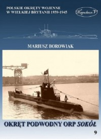 Okręt podwodny ORP Sokół - okładka książki