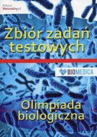 Olimpiada biologiczna. Zbiór zadań testowych - okładka podręcznika