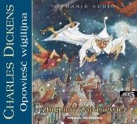 Opowieść wigilijna - Charles Dickens - pudełko audiobooku