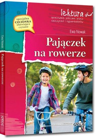 Pajączek na rowerze - okładka książki