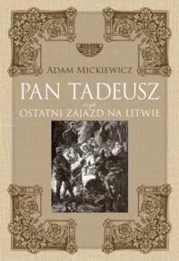 Pan Tadeusz - Adam Mickiewicz - okładka książki