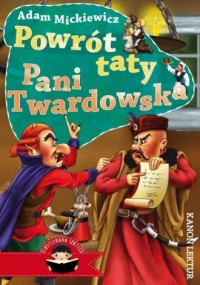 Powrót taty  Pani Twardowska - okładka książki