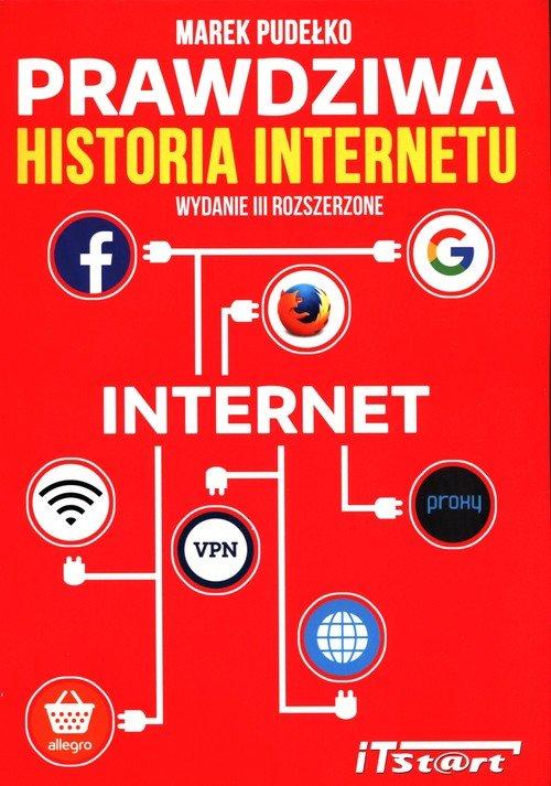 Prawdziwa historia Internetu - okładka książki