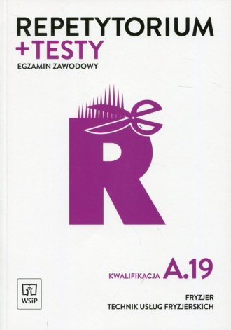 Repetytorium i testy. Egzamin zawodowy - okładka podręcznika