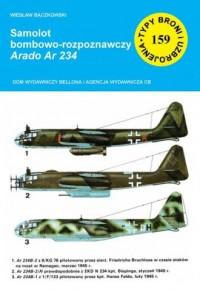 Samolot bombowo-rozpoznawczy Arado - okładka książki