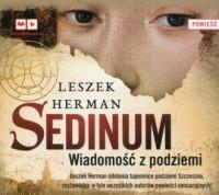 Sedinum. Wiadomość z podziemia - pudełko audiobooku