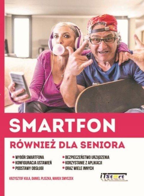 Smartfon również dla seniora - okładka książki