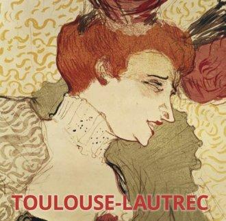 Toulouse-Lautrec - okładka książki