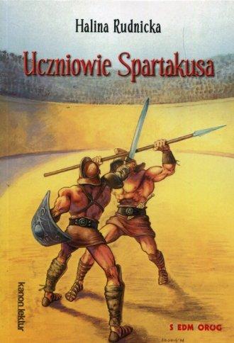 Uczniowie Spartakusa - okładka podręcznika