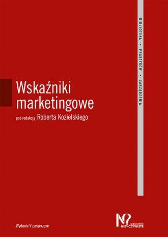 Wskaźniki marketingowe - okładka książki