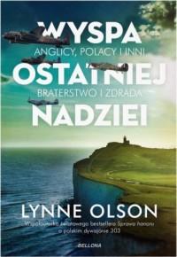 Wyspa ostatniej nadziei - Lynne - okładka książki