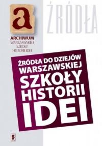 Źródła do dziejów warszawskiej - okładka książki