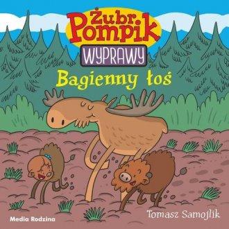 Żubr Pompik 2. Bagienny łoś - okładka książki