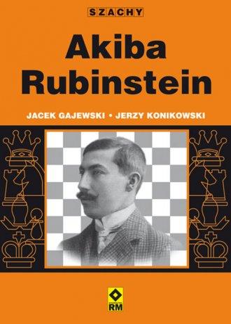 Akiba Rubinstein - okładka książki
