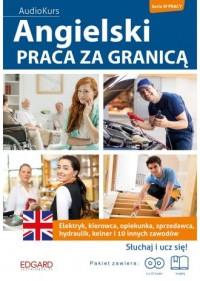 Angielski. Praca za granicą - okładka książki