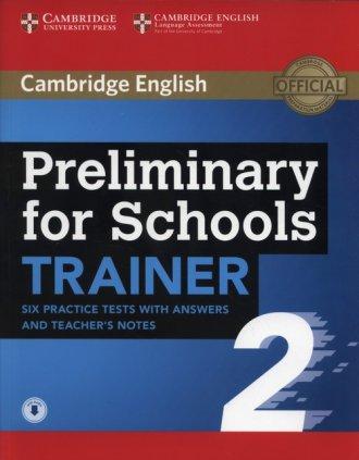 APT Preliminary for Schools Trainer - okładka podręcznika