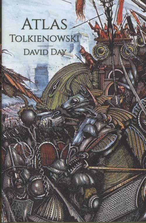 Atlas Tolkienowski - okładka książki