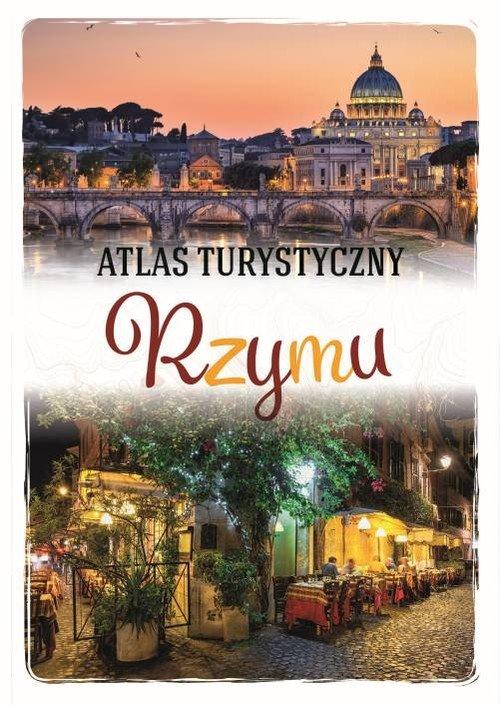 Atlas turystyczny Rzymu - okładka książki