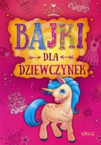 Bajki dla dziewczynek - okładka książki