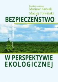 Bezpieczeństwo w perspektywie ekologicznej - okładka książki