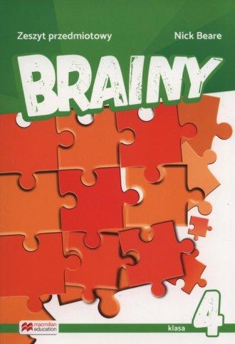 Brainy 4. Zeszyt przedmiotowy - okładka podręcznika