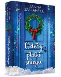 Cztery płatki śniegu - Joanna Szarańska - okładka książki
