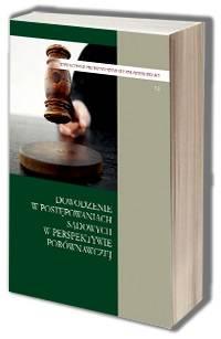 Dowodzenie w postępowaniach sądowych - okładka książki
