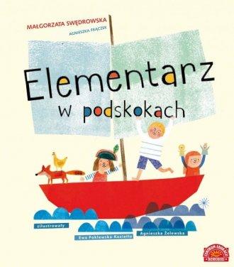 Elementarz w podskokach - okładka książki