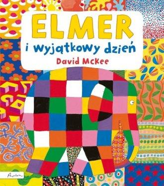 Elmer i wyjątkowy dzień - okładka książki