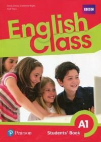English Class A1. Szkoła podstawowa. Podręcznik wieloletni - okładka podręcznika