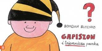 Gapiszon i tajemnicza paczka - okładka książki