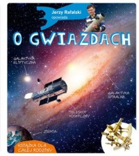 Jerzy Rafalski opowiada o gwiazdach - okładka książki