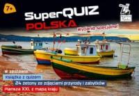 Kapitan Nauka SuperQuiz Polska - okładka książki