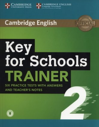 Key for Schools Trainer 2. Six - okładka podręcznika