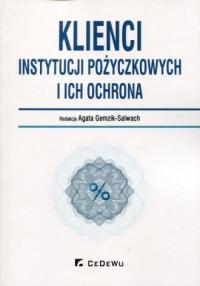 Klienci instytucji pożyczkowych - okładka książki
