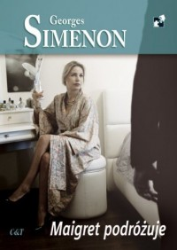 Maigret podróżuje - okładka książki