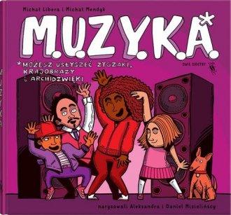 M.U.Z.Y.K.A. - okładka książki