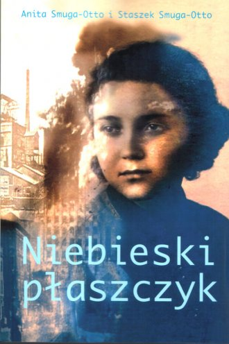 Niebieski płaszczyk - okładka książki