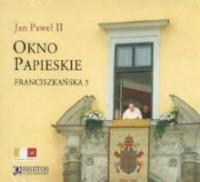 Okno Papieskie. Franciszkańska 3 - pudełko audiobooku