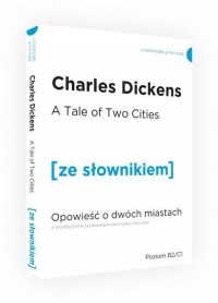 Opowieść o dwóch miastach wersja - okładka książki