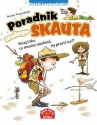 Poradnik małego skauta - okładka książki