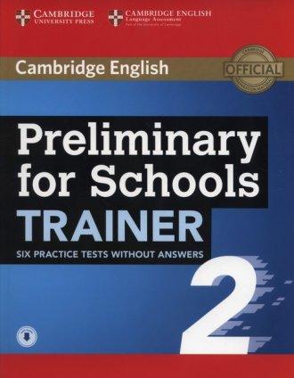 Preliminary for Schools Trainer - okładka podręcznika