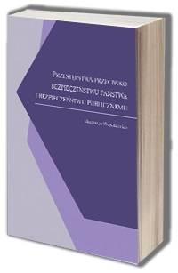 Przestępstwa przeciwko bezpieczeństwu - okładka książki