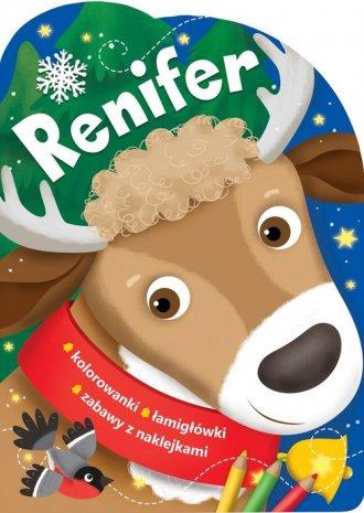 Renifer. Świąteczne activity z - okładka książki