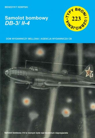Samolot bombowy DB-3/Ił-4 - okładka książki