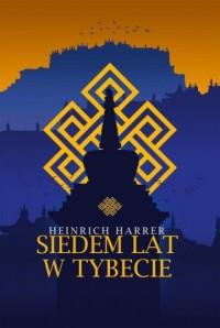 Siedem lat w Tybecie - okładka książki