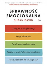 Sprawność emocjonalna - David Susan - okładka książki