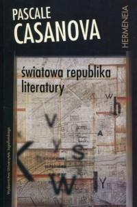 Światowa republika literatury - okładka książki