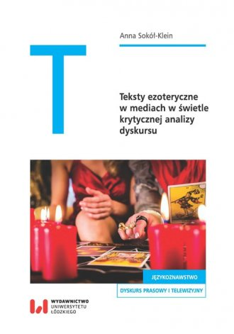 Teksty ezoteryczne w mediach w - okładka książki