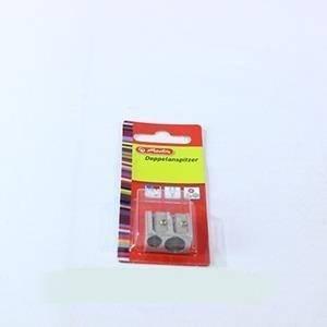 Temperówka metalowa podwójna - zdjęcie produktu